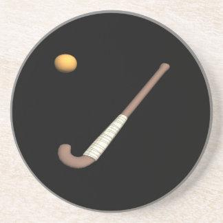 Field Hockey Stick & Ball Coasters
