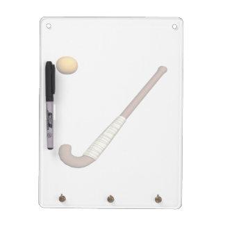Field Hockey Stick & Ball Dry Erase Whiteboards