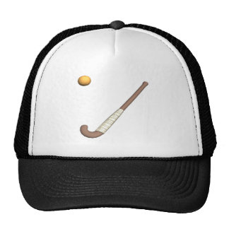 Field Hockey Stick Ball Hat