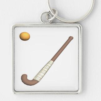 Field Hockey Stick & Ball Keychains