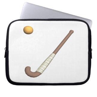 Field Hockey Stick Ball Laptop Sleeve