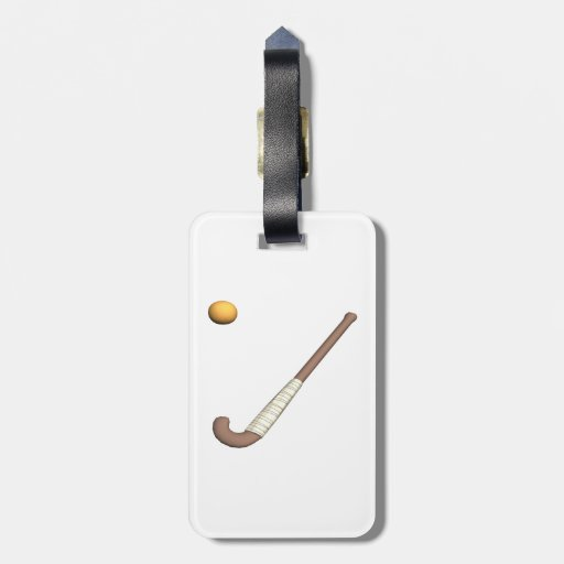 Field Hockey Stick & Ball Tag For Bags