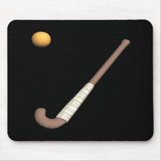 Field Hockey Stick Ball Mousepad