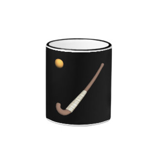 Field Hockey Stick & Ball Mugs
