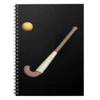 Field Hockey Stick & Ball Notebooks