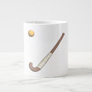 Field Hockey Stick & Ball Jumbo Mugs
