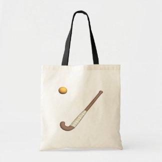 Field Hockey Stick & Ball Budget Tote Bag