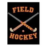 Field Hockey Sticks Postcard
