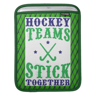 Field Hockey Teams Stick Together Cover Sleeves For iPads