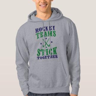 Field Hockey Teams Stick Together Hoodie