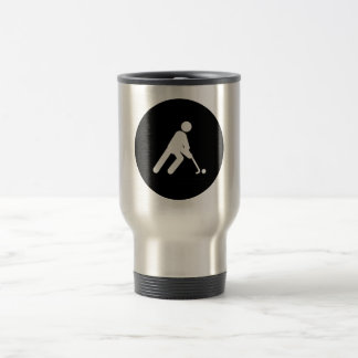 Field Hockey Travel Mug