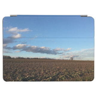 Field in spring iPad air cover