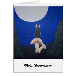 """Field Observatory"" Card"