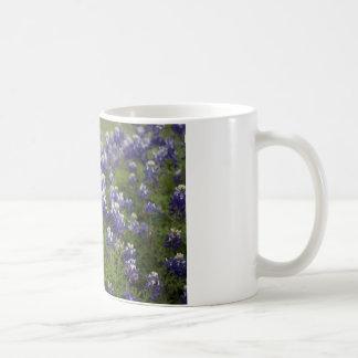Field of Bluebonnets Basic White Mug