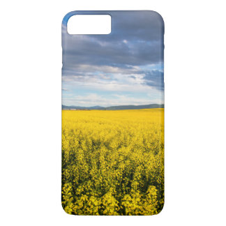 Field Of Canola In Late Evening Light iPhone 7 Plus Case