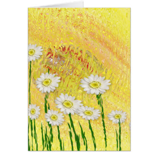 Field Of Daises Card