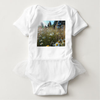 Field of Daisies Baby Bodysuit
