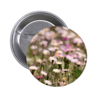 Field of Daisies Photo Button