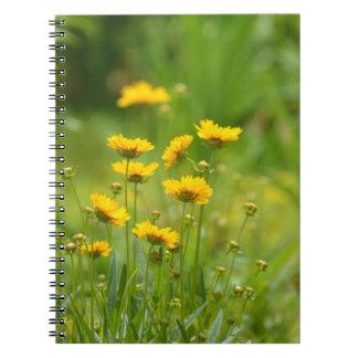 Field of Dandelions Notebook