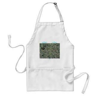 Field of Dry Cut Grass Aprons