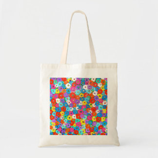 Field of Flowers Budget Tote Bag