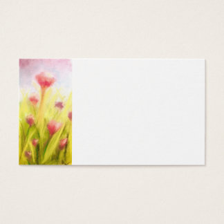 Field of Flowers Business Cards