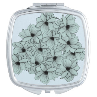 Field of Flowers Compact Mirror