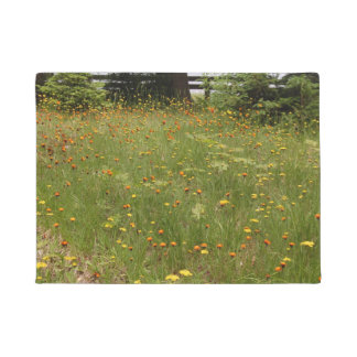 Field Of Flowers Door Mat