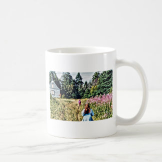 Field of flowers in Bic Coffee Mug