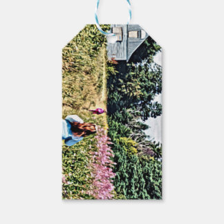 Field of flowers in Bic Gift Tags
