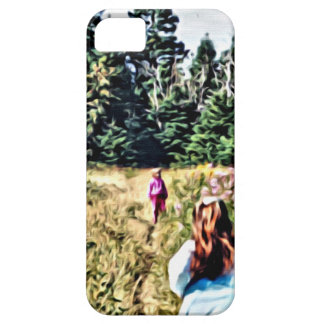 Field of flowers in Bic iPhone 5 Cover