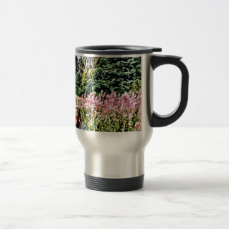 Field of flowers in Bic Travel Mug