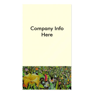 Field of Flowers Pack Of Standard Business Cards