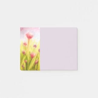 Field of Flowers Post-It Notes