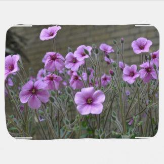 Field of Geraniums Buggy Blanket