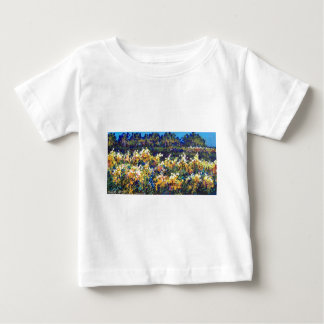 field of goldenrod tees