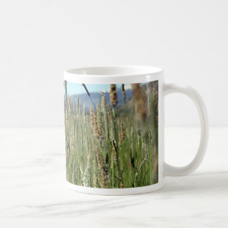 Field of Grass Basic White Mug