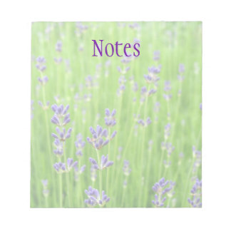 Field of Lavender Notepad