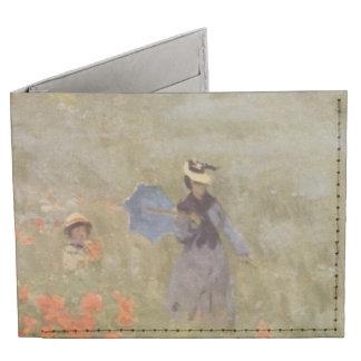 Field of Poppies Claude Monet Tyvek Wallet