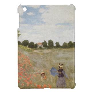 Field of Poppies Claude Monet iPad Mini Covers