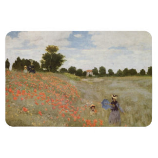Field of Poppies Claude Monet Magnet