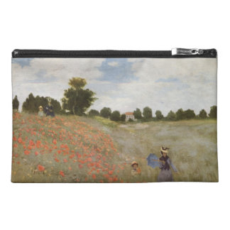 Field of Poppies Claude Monet Travel Accessories Bags
