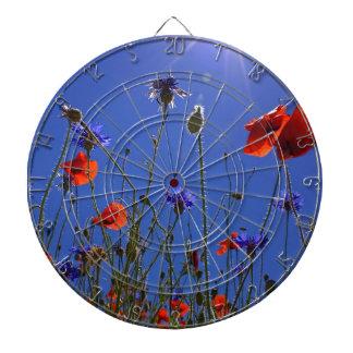 field-of-poppies dartboard