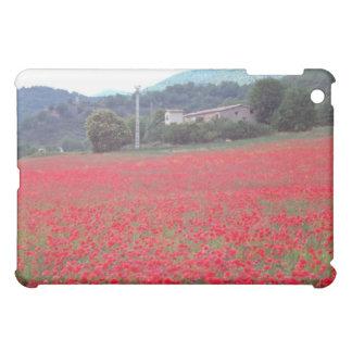 Field of poppies near Gap flowers iPad Mini Covers