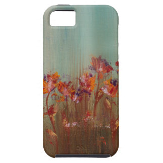 Field of Red Flowers Case For The iPhone 5