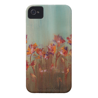 Field of Red Flowers iPhone 4 Case-Mate Case