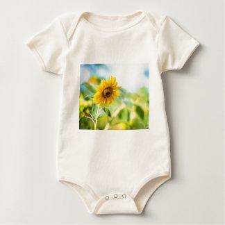 Field of Sunflowers Baby Bodysuit