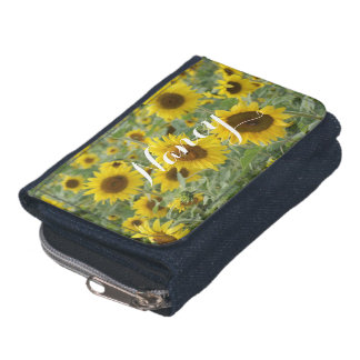 Field of Sunflowers Wallet
