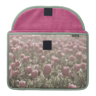 Field of Tulips Case Sleeves For MacBooks