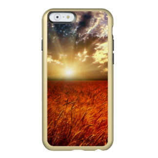Field of wheat and sunset incipio feather® shine iPhone 6 case